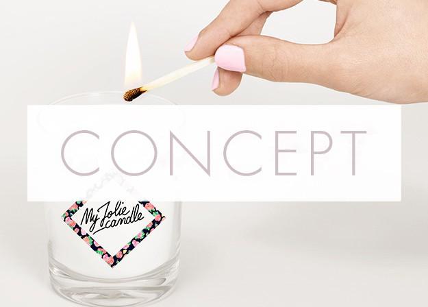 Les parfums de My Jolie Candle